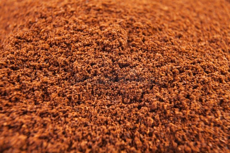Malt kaffe royaltyfri bild