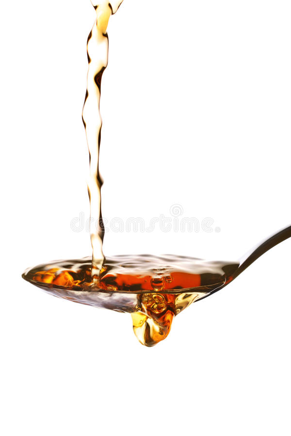Malt vinegar stock photo