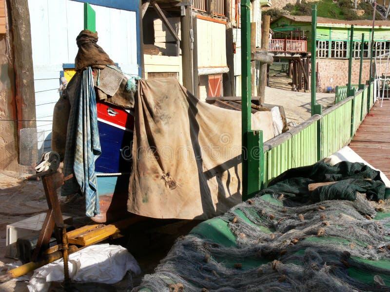 Maltańska rybak łódź obraz royalty free
