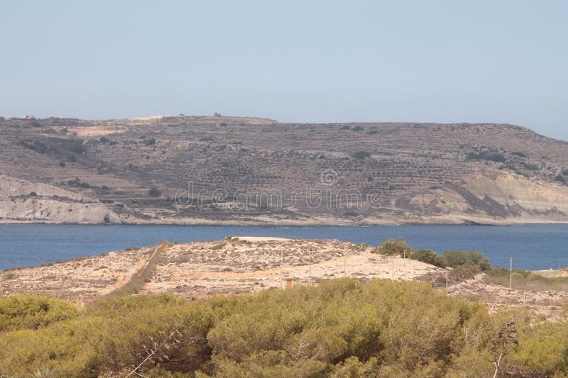 Malta öar arkivbilder
