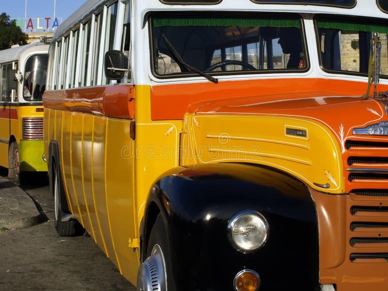 Malta-Bus lizenzfreie stockbilder