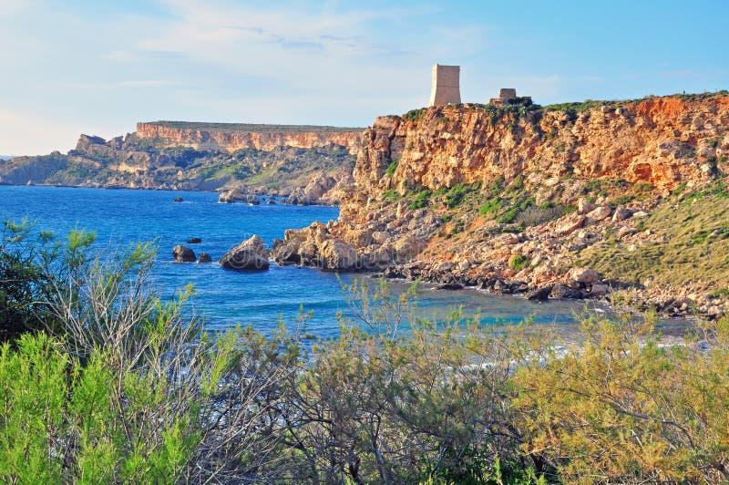 Download Malta cliffs stock photo. Image of cliffs, beach, gozo - 41293264