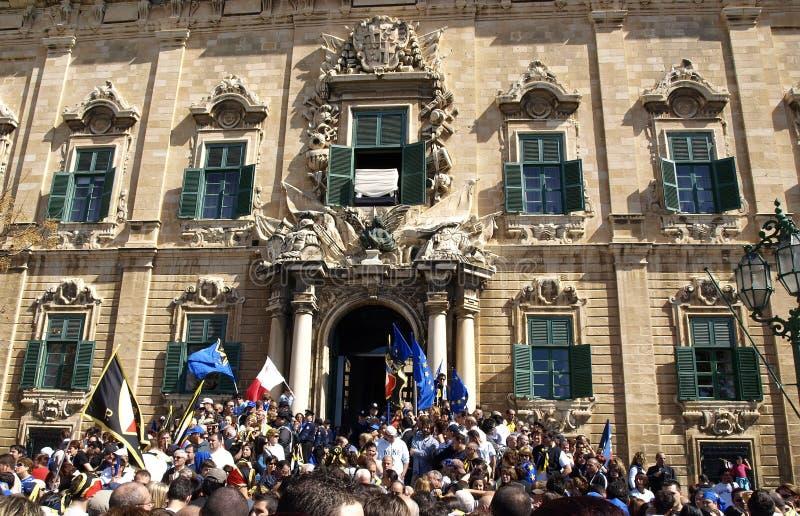 Malta comemora imagem de stock royalty free