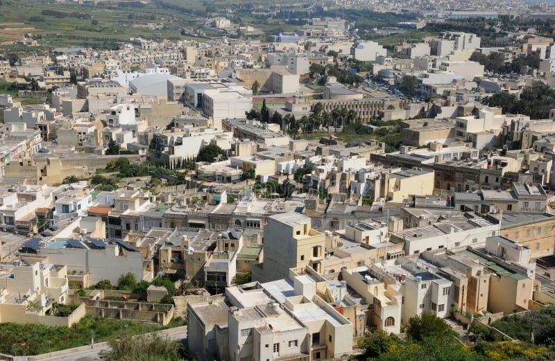 Malta den pittoreska ön av Gozo fotografering för bildbyråer