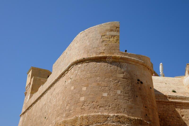 Malta den pittoreska ön av Gozo arkivbild