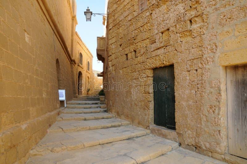 Malta den pittoreska ön av Gozo royaltyfria foton