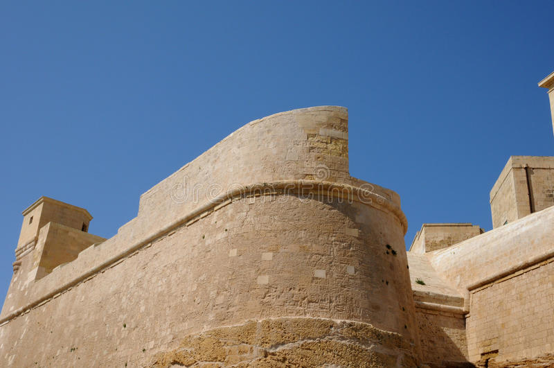 Malta den pittoreska ön av Gozo arkivbilder