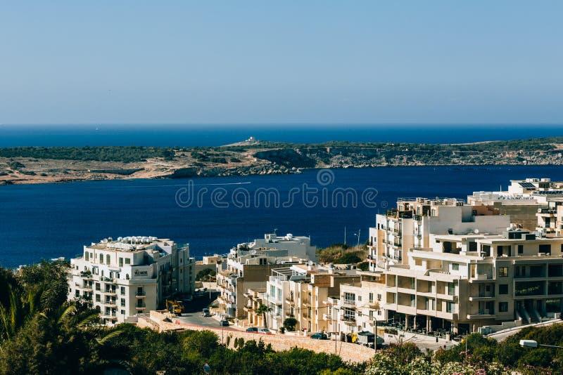 Malta en el mar Mediterráneo fotos de archivo