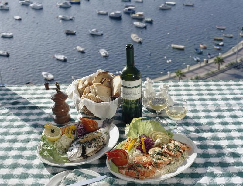 Malta Food & Wine stock photos