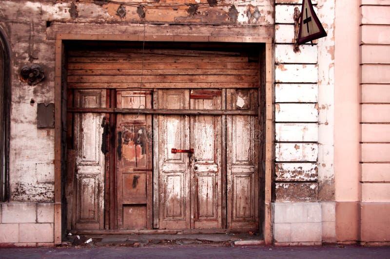 Malta-Garageneingang lizenzfreies stockfoto
