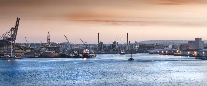 Malta-Hafen lizenzfreies stockbild