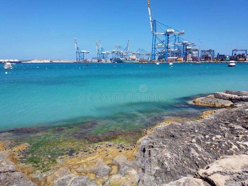 Malta-K?ste stockfotografie