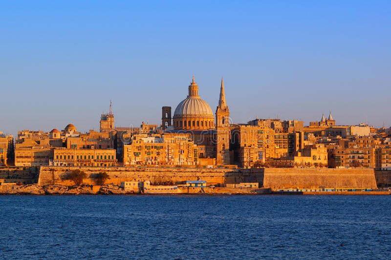 Malta La Valetta stock photos