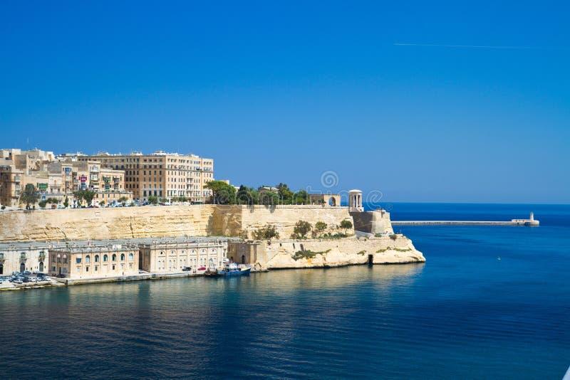 Malta, La Valletta stockfotos