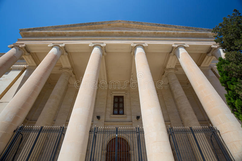 Malta lagdomstolar arkivfoto