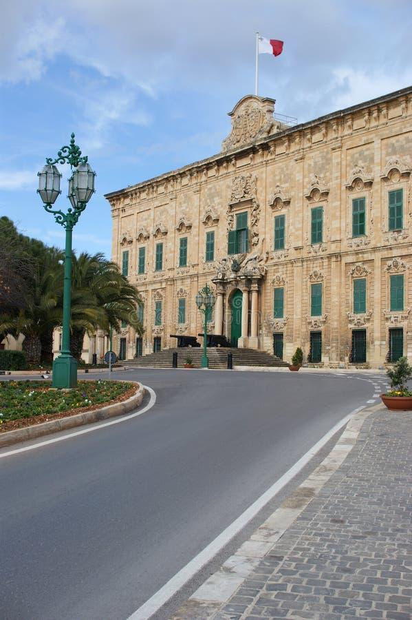 malta ministra pałac prima obrazy royalty free