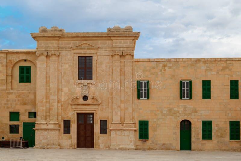 Malta National War Museum royalty free stock photography