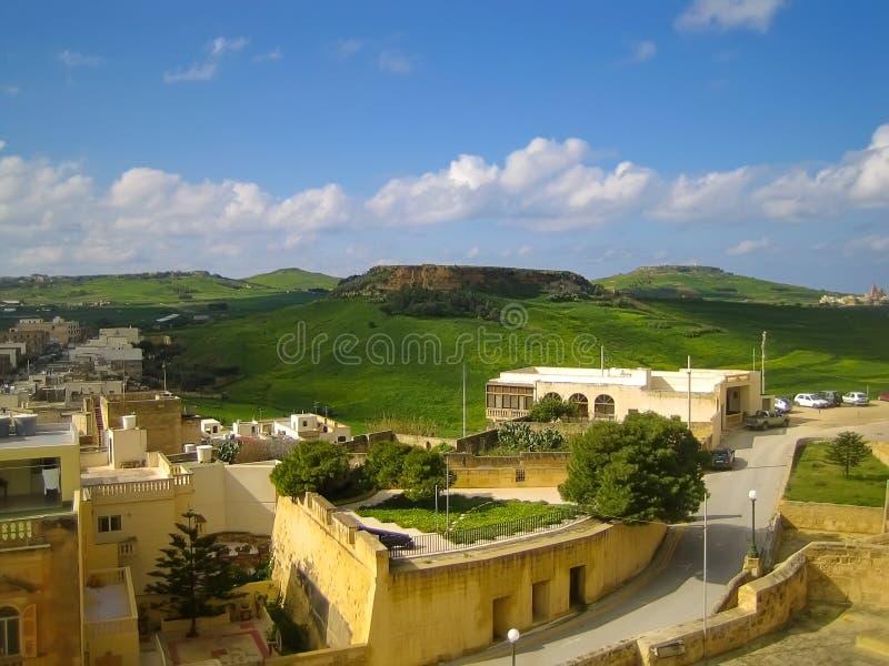 Malta. Oude Stad stock foto