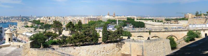 Malta panorama stock images