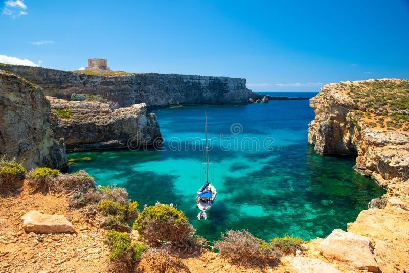 Malta semesterort arkivfoton