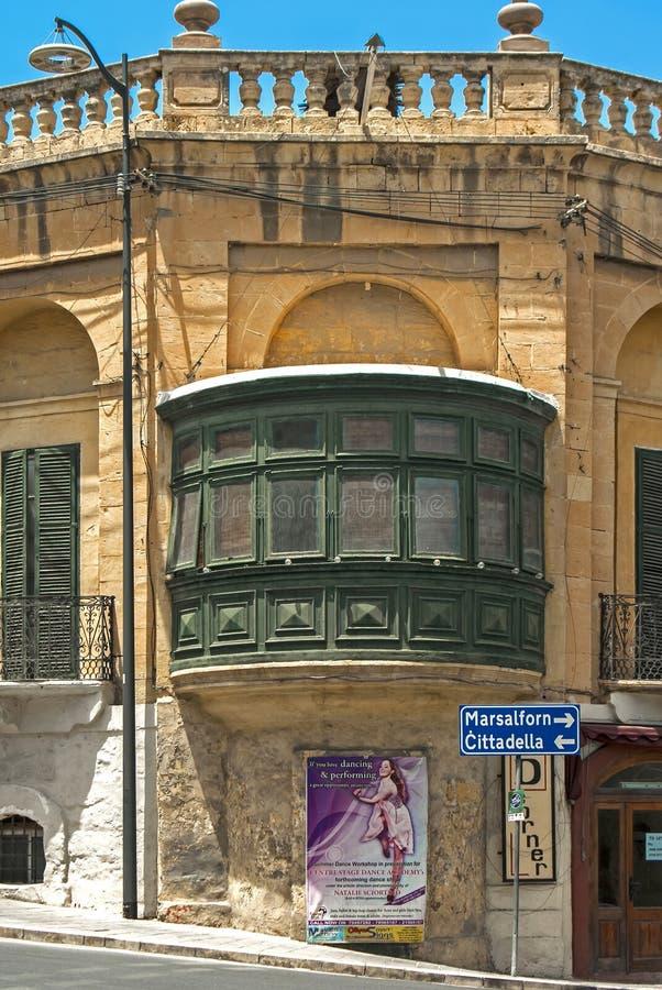 Malta sikter av Gozo fotografering för bildbyråer
