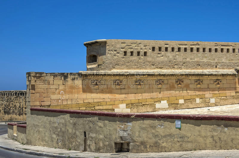 Malta sikter av Valletta royaltyfri bild