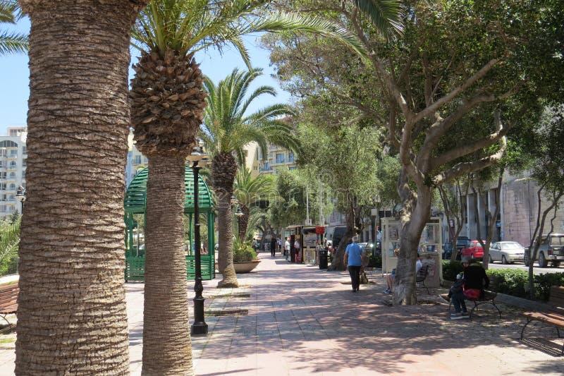 Malta soleggiata fotografie stock
