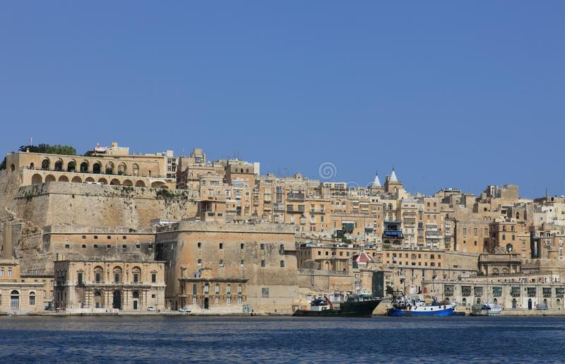 malta valletta стоковая фотография