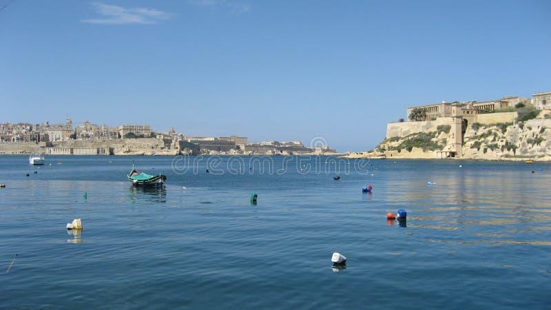 Malta valletta imagen de archivo libre de regalías