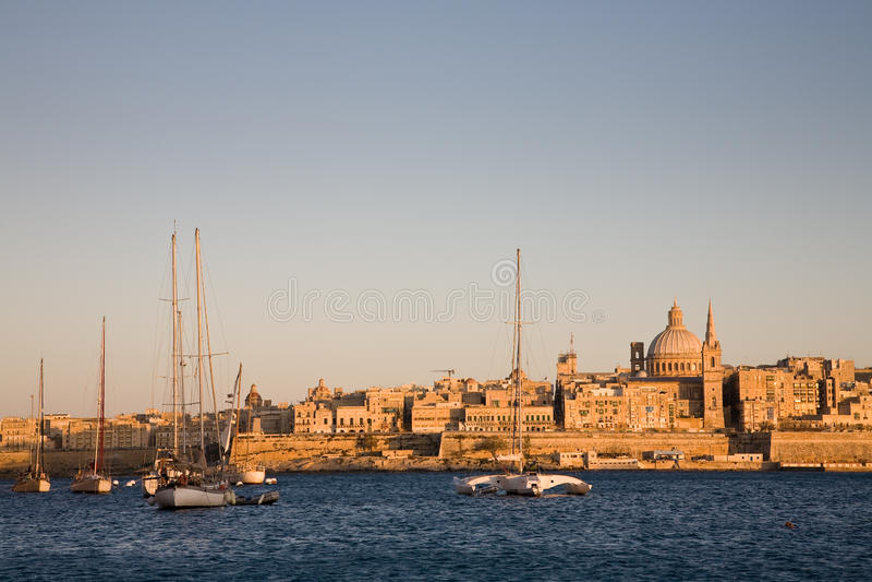 malta valletta стоковая фотография rf