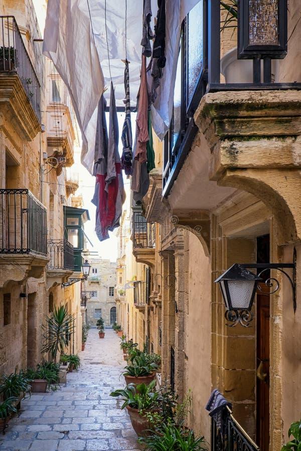 Malta - Valletta stockfotos