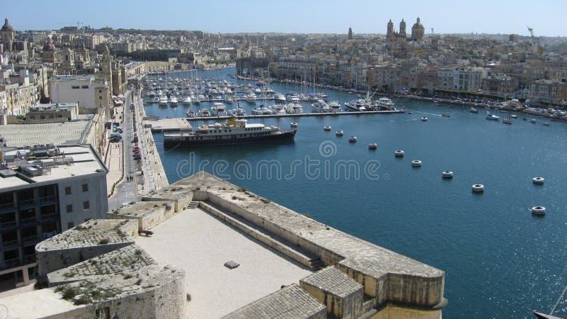 Malta Vittorioso foto de archivo