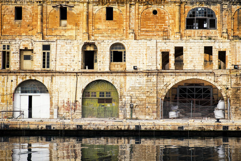 Malte - bormla - CittàCospicua images stock