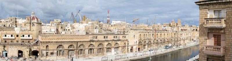 Malte - bormla - CittàCospicua photos libres de droits