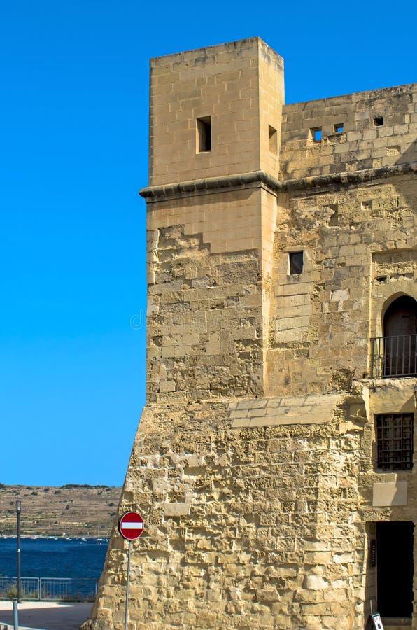 Malte, rues de St Pauls Bay image stock