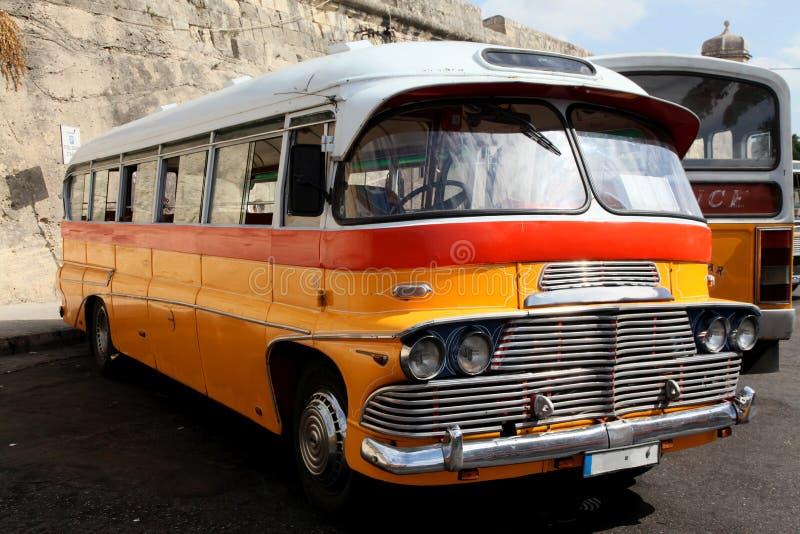 Maltese bus royalty-vrije stock fotografie