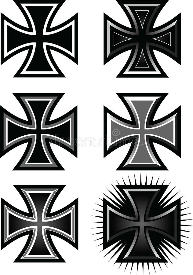 Maltese_Cross illustration libre de droits