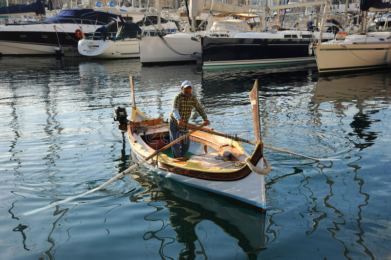 Download Malta water taxi. editorial stock image. Image of yacht - 30101379
