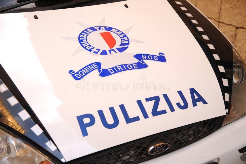 Malta police 'pulizija' stock photography