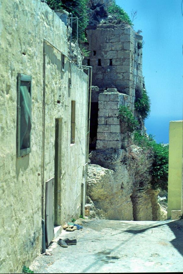 Maltese Village stock image