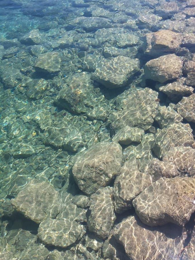 Maltesiskt kristallvatten royaltyfri fotografi