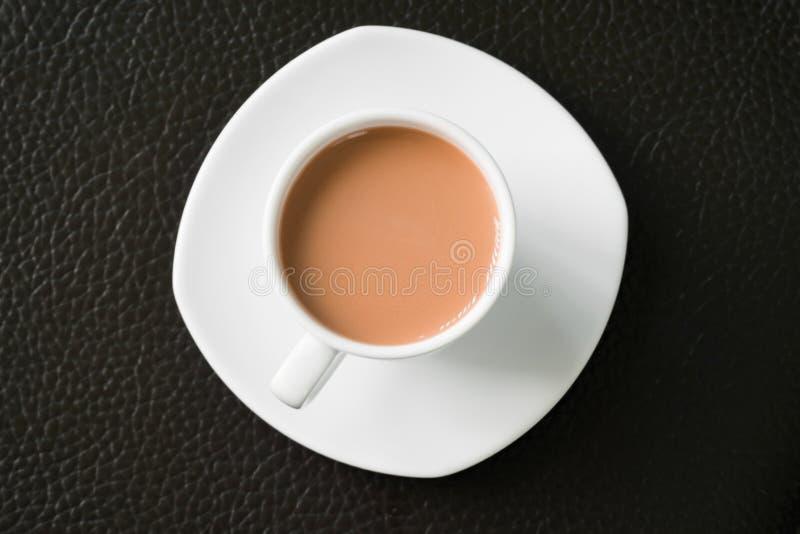 Malto del cioccolato nella tazza fotografia stock