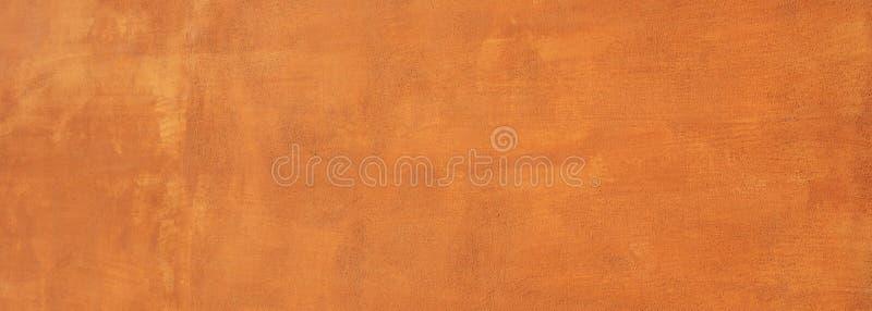 Malujący ścienny tekstury tło, czerwony brązu kolor, sztandar obraz royalty free