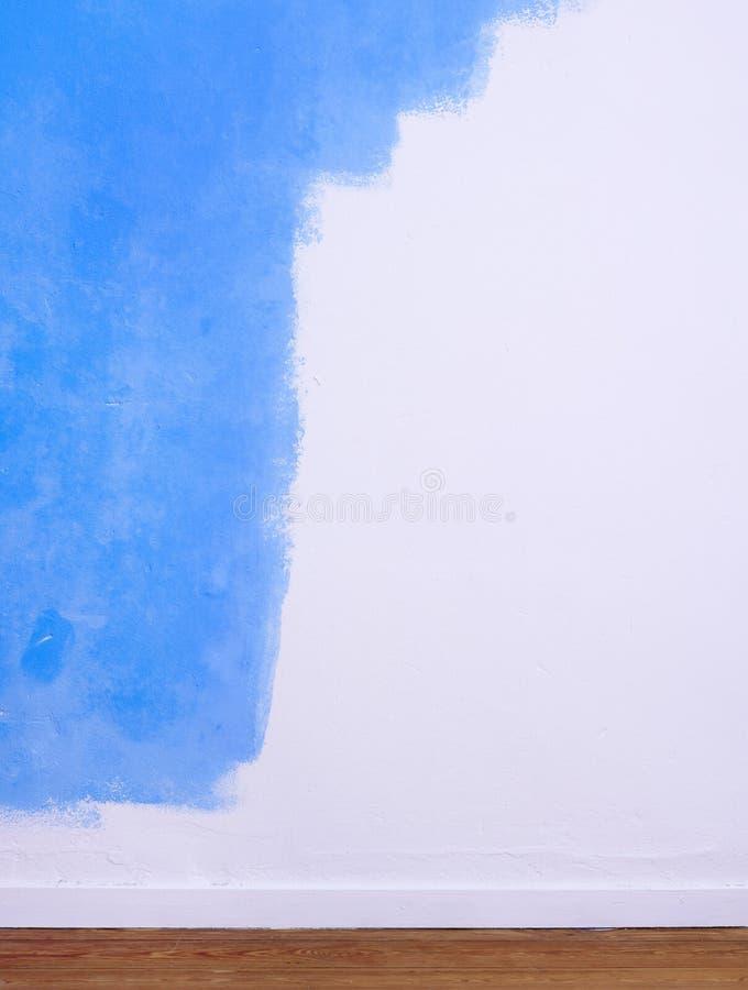 malująca stronniczo ściana obraz stock