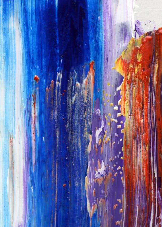 malująca tło abstrakcjonistyczna ręka obraz royalty free