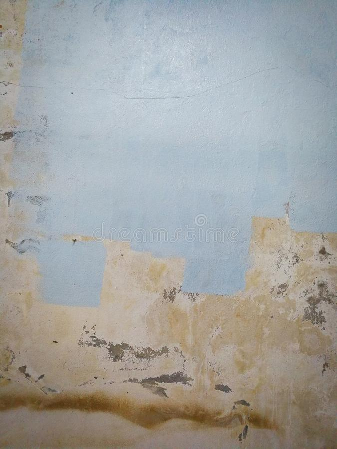 Malujący ścienny Stary ścienny pasek obrazy stock