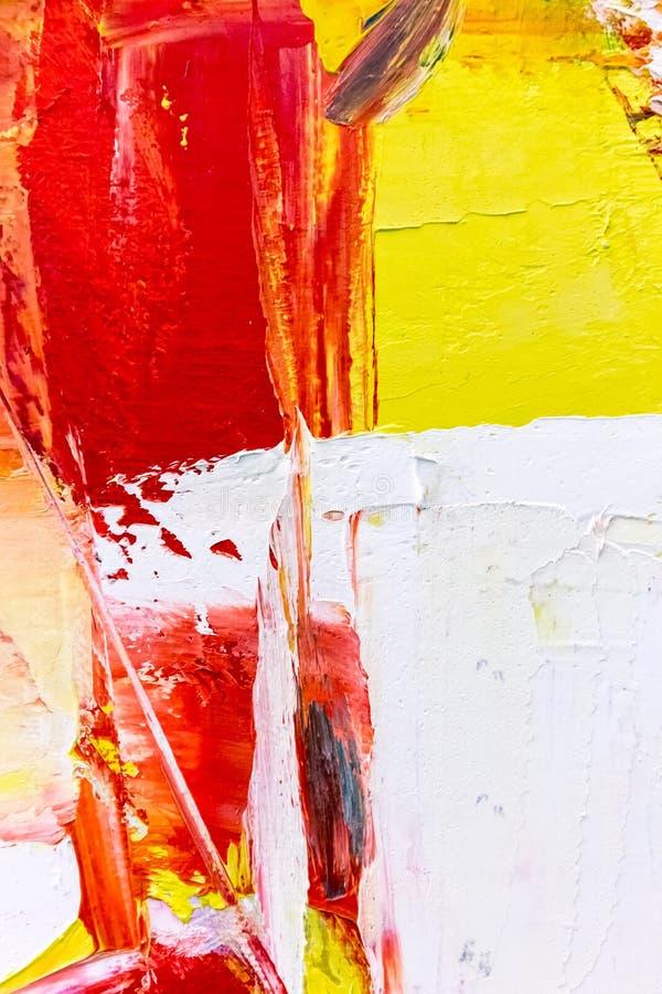 malujący abstrakcjonistyczny akrylowy tło zdjęcie stock