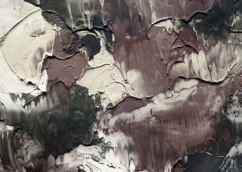 malujący abstrakcjonistyczny akrylowy tło royalty ilustracja