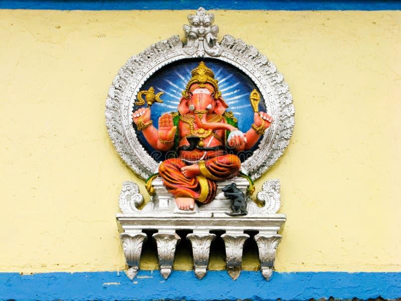 Malujący Ganesh obrazy royalty free