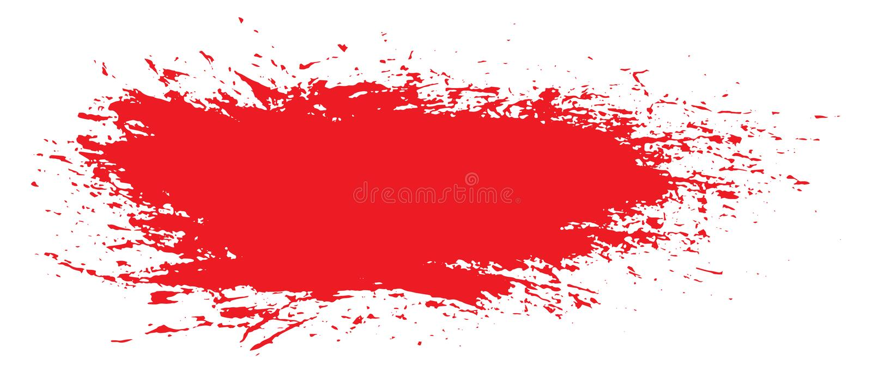malujący porysowany ilustracja szablon Grunge Halloweenowy tło z krwionośnym splats sztandarów abstrakta backg ilustracja wektor